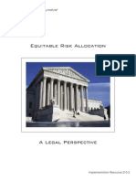 Ic Equitable Risk Allocation Legal Perspective