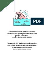 Requisiti tecno fuizionali ad uso delle piscine pubbliche