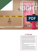Renovate RightRENOVATE RIGHT Brochure
