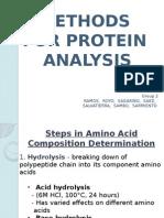 Methods for Protein Analysis Wiiiiiiiii