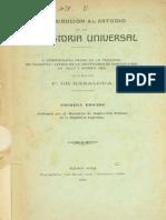 Basaldua Florencio dBasaldua Florencio De - Contribucion Al Estudio De La Prehistoria Universal (1907)e - Contribucion Al Estudio de La Prehistoria Universal (1907)