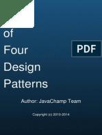 Gang of Four Java Design Patterns Mock Exams