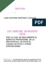 CODIGO DEONTOLIGICO ARCHIVISTICO