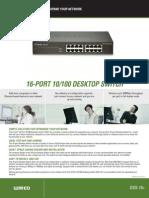 DSS 16 Datasheet en US