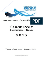 Canoe Polo Rules 2015