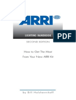 ARRI Lighting Handbook - English Version