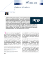 Evolution of esthetic considerations in orthodontics