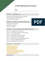 Guidebook on Waste Minimisation for Industries