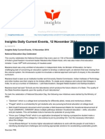 Insightsonindia.com-Insights Daily Current Events 12 November 2014