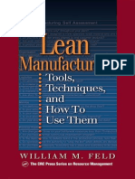 Lean Manufacturing Tools, Techniques, And How to Use Them