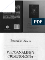 PSICOANALISIS+Y+CRIMINOLOGIA+ESTANISLAO+ZULETA