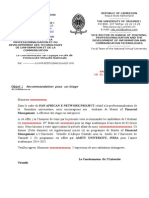 Speciment Lettre de Recommandation New