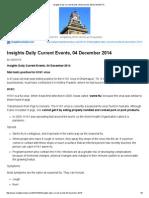 04 December 2014 _ Insights