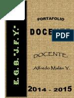 Portafolio Docente_2015 Distrito