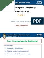 Conceptos Basicos de Contaminacion Ambiental
