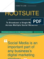 The Ultimate Cheat Sheet On How To Use Hootsuite To Broadcast On Social Networks