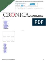 La Crónica de Hoy _estimulación Magnética Transcraneal Depresión René Drucker