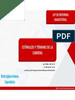 LRM - Betty Aguero Ramos - Estimulos y Termino de La Carrera