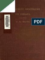 A-E-WAITE The Secret Doctrine in Israel.pdf