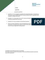 Registration Assessments 2015 Practice Set 3 Issued April 2015 Final
