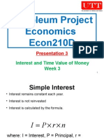 Petroleum Project Economics 03