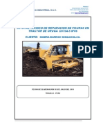 D375A-5 N° 06 INFORME DE FISURA EN CHASIS