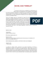 Caso Parmalt - Analisis