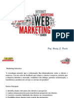 1ª Aula WEB Marketing