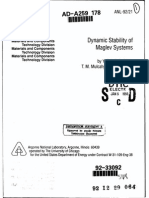 Dynamic Stability of Maglev