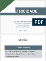 Eletricidade - Leis de Kirchhoff