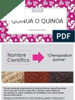 Exposición Quinua o Quinoa