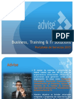 Portafolio de Servicios Advise 2015