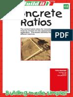 02 Concrete Ratios