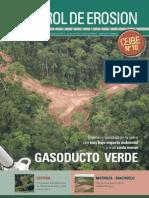 Control de Erosion en Gasoducto Cerro Verde