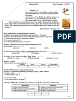 MS3 Level Test 2 First Term 2012 2013
