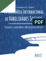 IV Seminário Internacional de Habilidade Sociais