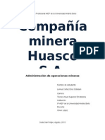 Compañia Minera Huasco