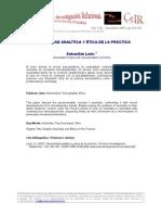 Leon Neutralidad Analitica CeIR V1N2