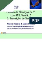 ITILv3 3 TransicaoDeServicos