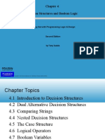 Starting Out With Programming Logic & Design - Chapter4_Descision Structures and Boolean Logic