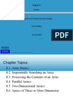Starting Out With Programming Logic & Design - Chapter8_Arrays