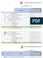 Matriz Curricular Fisioterapia