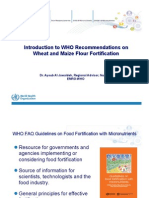 Introduction to Who Recommendations for Wheat Flour-1