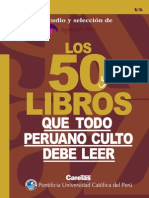 Los 50 Libros Que Todo Peruano Debe Leer