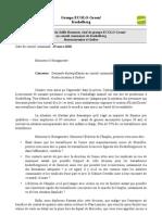 ECOLO Koekelberg Interpellation Licenciement Godiva