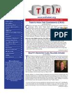 TEN Newsletter Spring 2010
