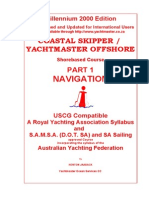 Coastal Skipper and Yachtmaster Offshore Part 1