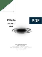 El Lado Oscuro Del Universo - Escrito Académico
