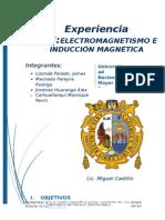 Informe 8 ELECTROMAGNETISMO