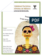 Ensayo Día de Muertos en La Vida Comunitaria de Los Pueblos Mexicanos